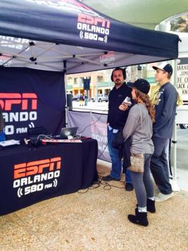 Interviewed for ESPN Radio