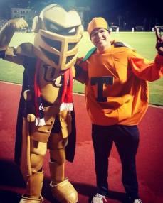 Citronaut and Knightro!